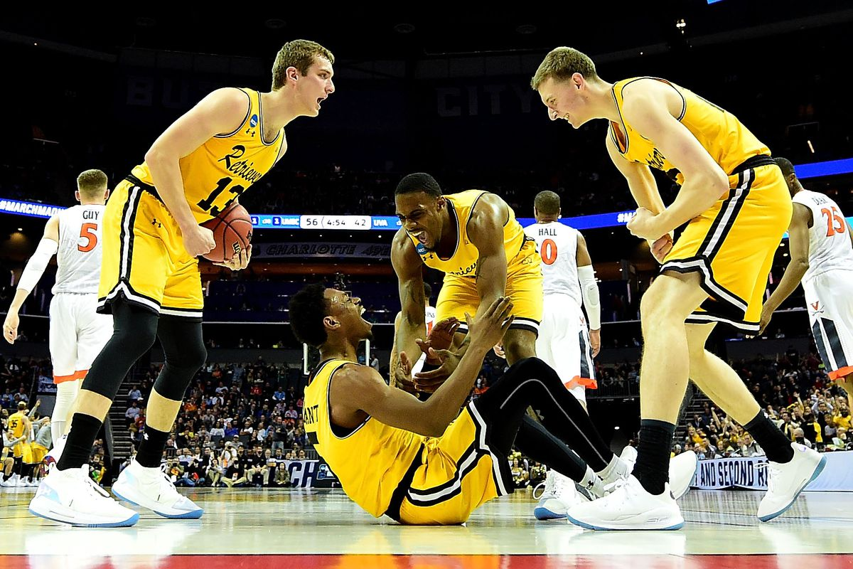 dc07d745a683 UMBC s Historic Win Over Virginia Didn t Look Lucky - The Ringer