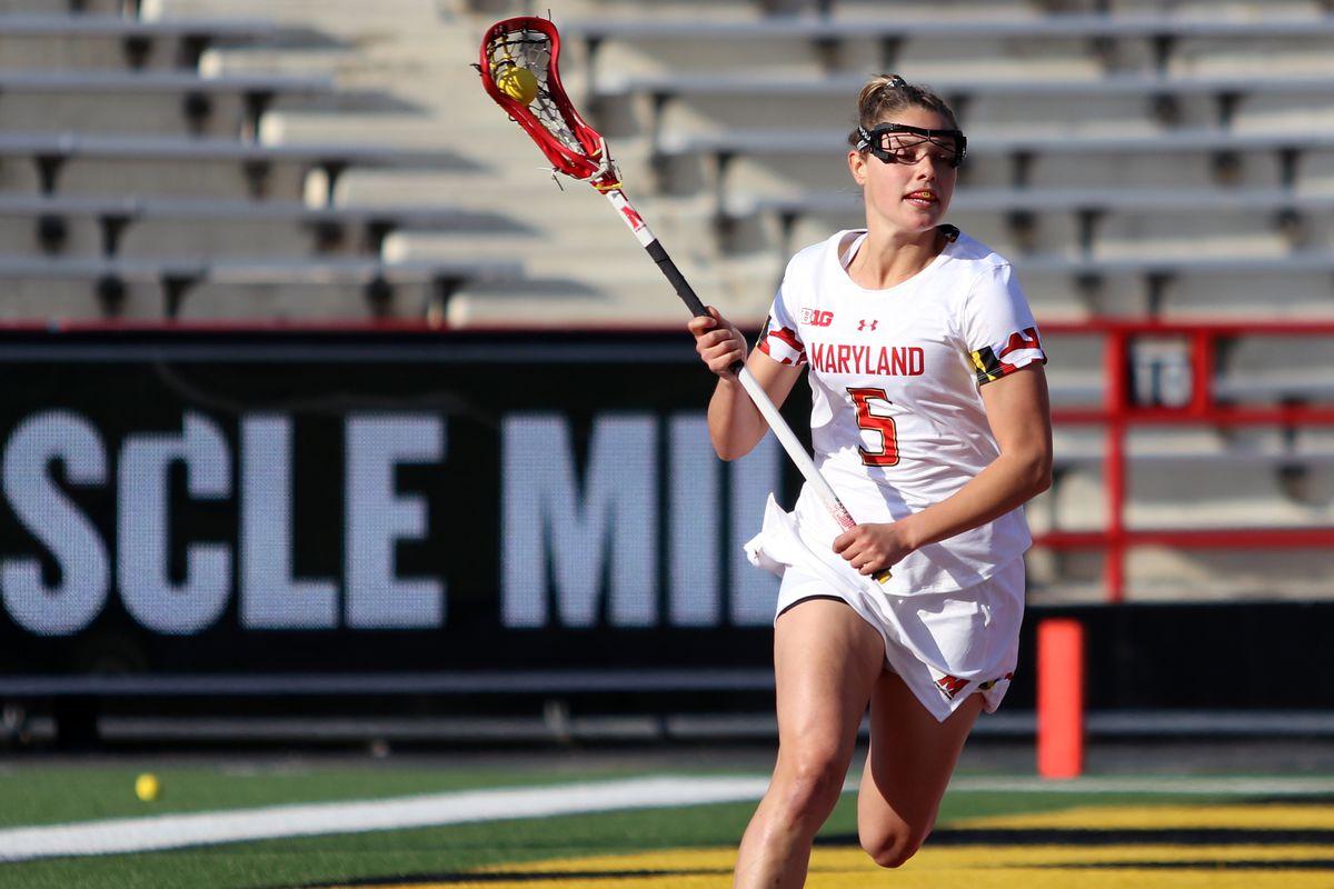 Maryland women's lacrosse Jen Giles vs. Michigan