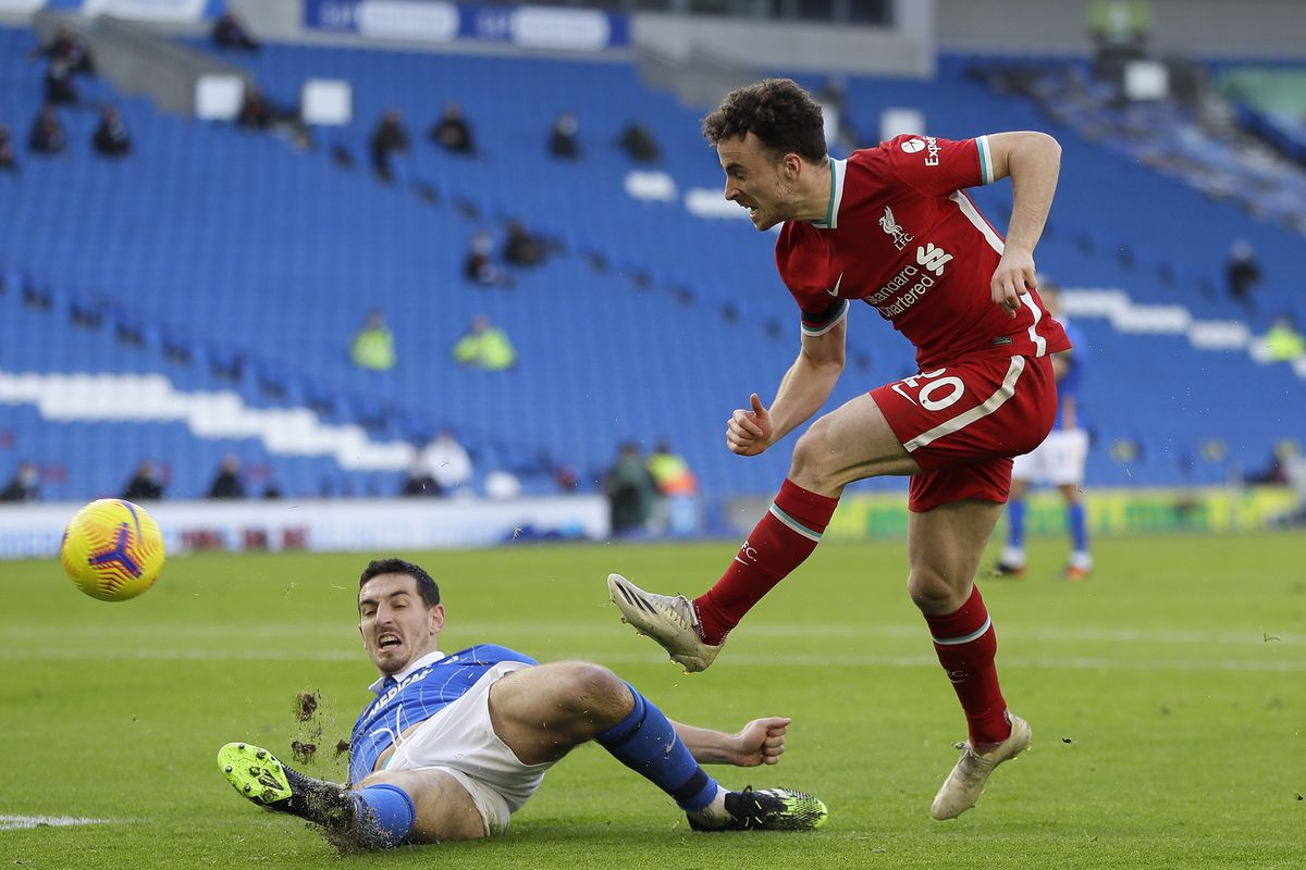 Brighton 1 Liverpool 1 Match Recap A Vary Frustrating Draw The Liverpool Offside