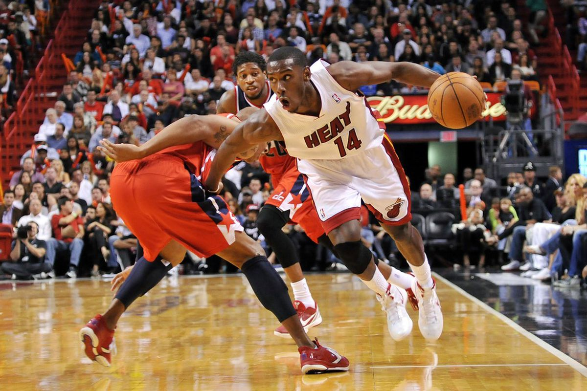 Terrel Harris looks to lead the Heat to a season-ending victory against the Wizards.