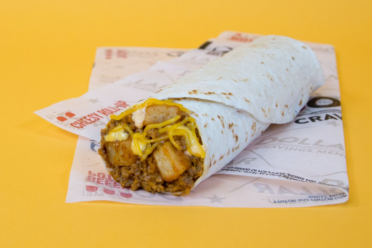 taco bell launches $1 'potatorito' nationwide - eater
