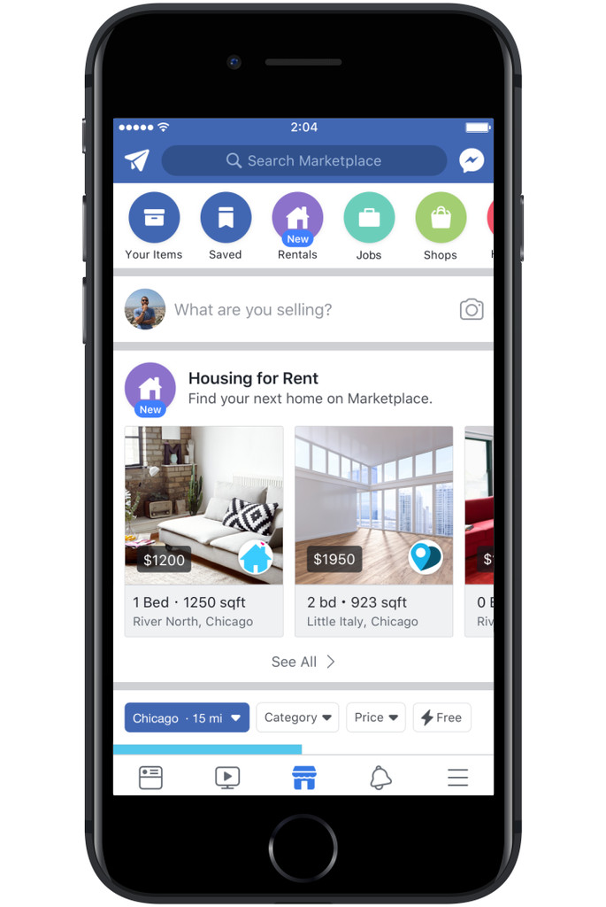 Facebook Marketplace revamps housing category to take on Craigslist