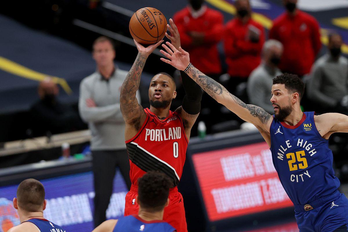 Portland Trail Blazers v Denver Nuggets - Game Five