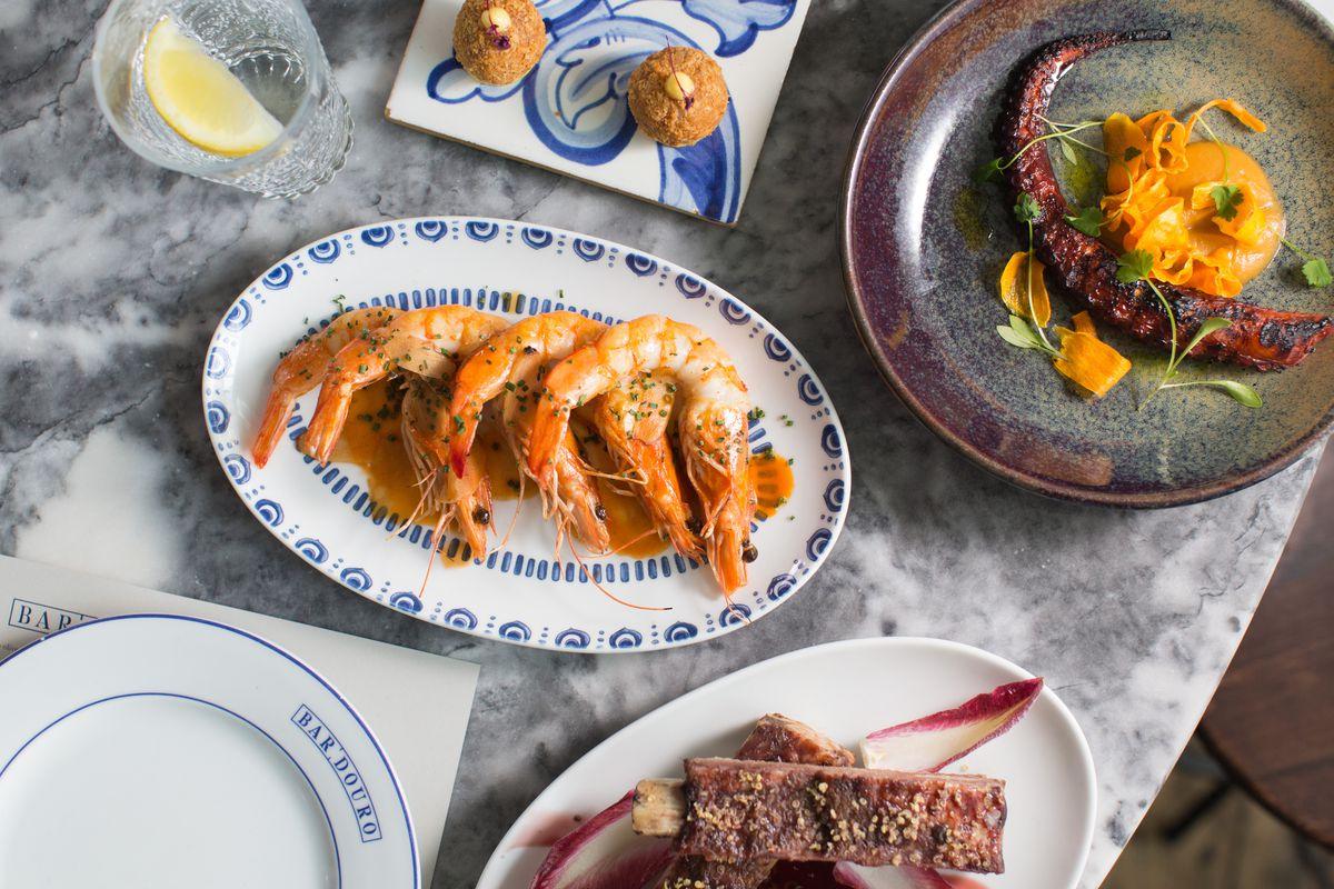 Flat Iron Square Restaurant Bar Douro Launches London Portuguese Series -  Eater London