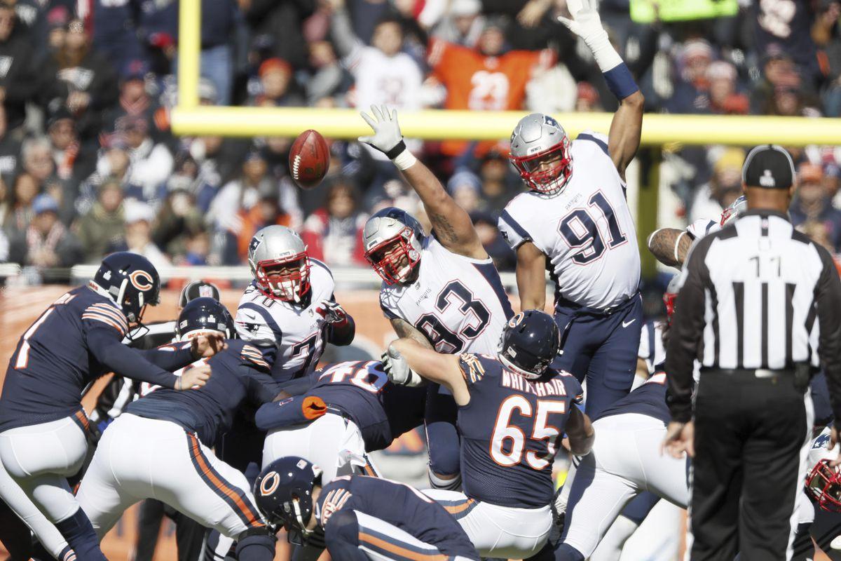 Chicago Bears vs New England Patriots