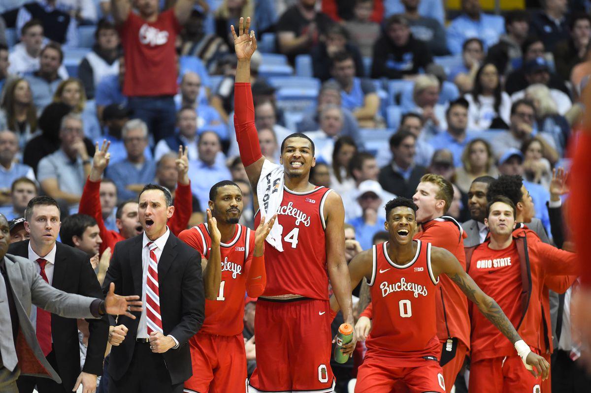 NCAA Basketball: Ohio State at North Carolina