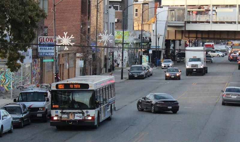 The No. 49 bus, which operates on Western Avenue. Nine CTA bus operators who were infected with the coronavirus reported that was the last route they worked. It's among the CTA's busiest bus routes.
