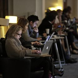 The study found that seventy-three percent of users have witnessed some form of harassment, while forty percent have experienced it firsthand. (AP Photo/Lefteris Pitarakis)