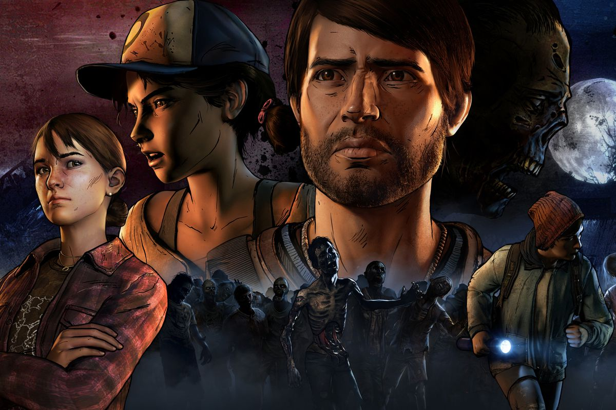 The Walking Dead: A New Frontier character art