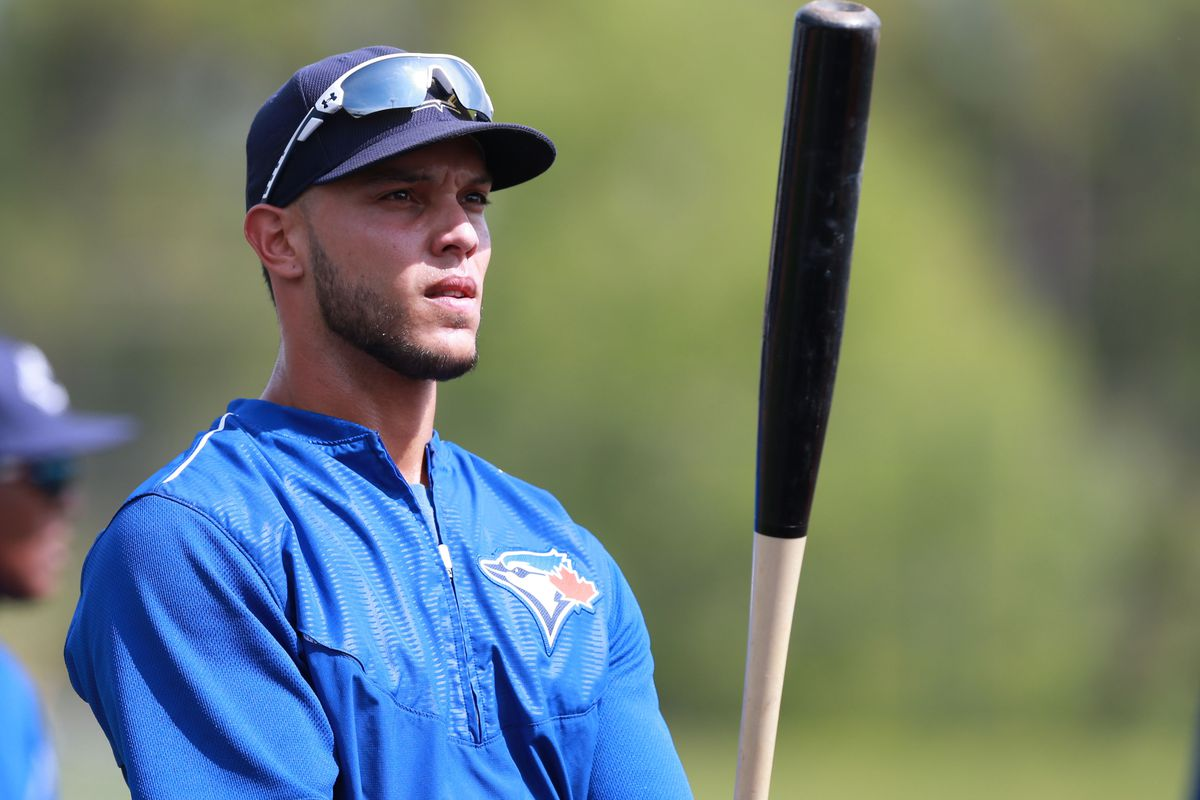 Perennial catcher of the future A.J. Jimenez's Blue Jays days might be severely numbered