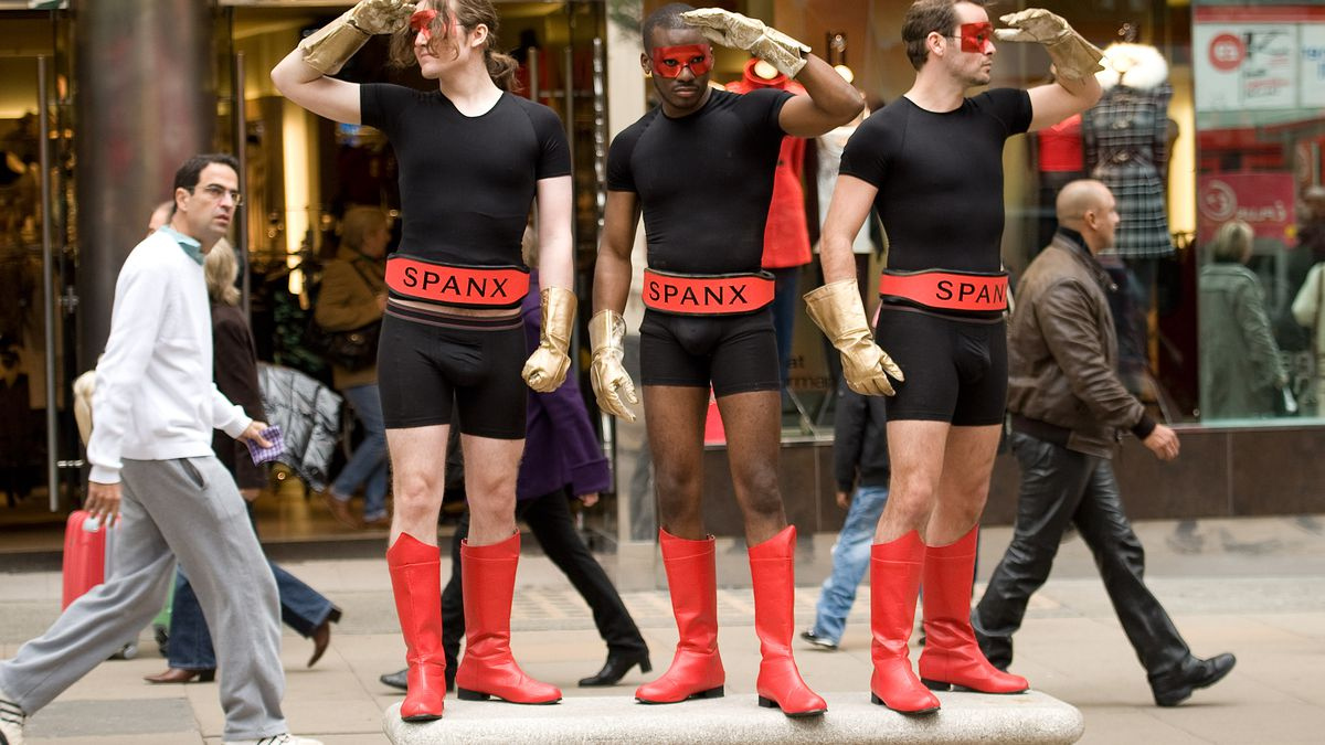 The Spanx for Men UK launch.