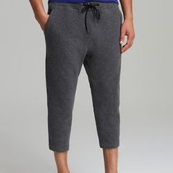 """<strong>Theory 38</strong> Tildor Roady Drop Crotch Fleece Pants in Charcoal, <a href=""""http://www1.bloomingdales.com/shop/product/theory-38-tildor-roady-drop-crotch-fleece-pants-relaxed-fit?ID=829806&CategoryID=3864#fn=FOB%3DMen%26spp%3D1%26ppp%3D96%26sp%"""