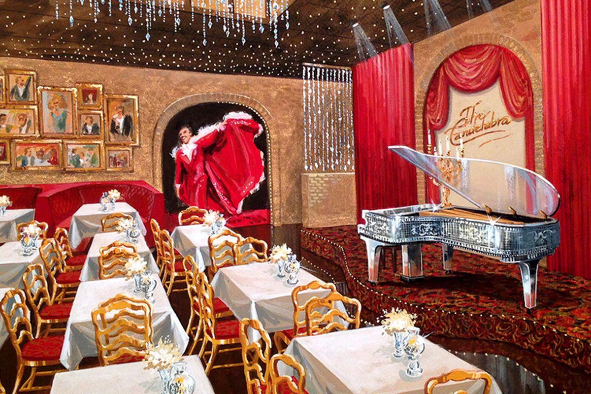 Candelabra Showroom