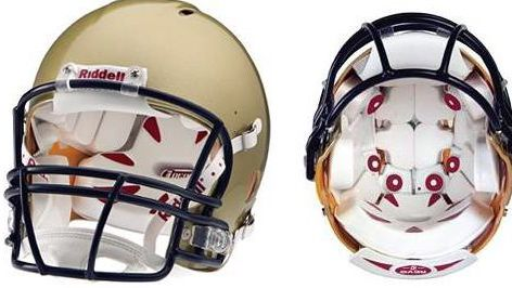 Riddell is embedding sensors in some football helmets so researchers can study what types of hits are most likely to produce concussions.