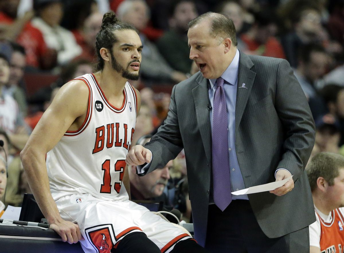 Tom Thibodeau adapts his offense to the personnel he has, like turning Joakim Noah into a point-center in the 2013-14 season.