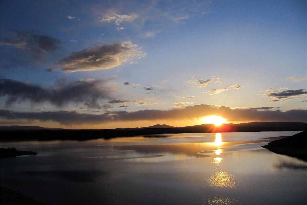 """The Flaming Gorge Reservoir near the Wyoming/Utah border would be the starting point of the """"MIllion"""" pipeline to Colorado."""