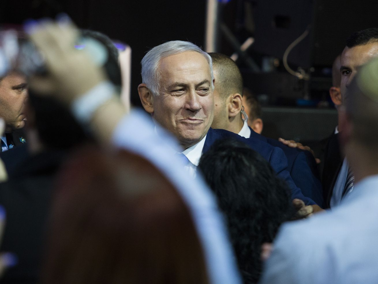 Prime Minister Benjamin Netanyahu after his victory in April 9. Israel will now have elections, again.