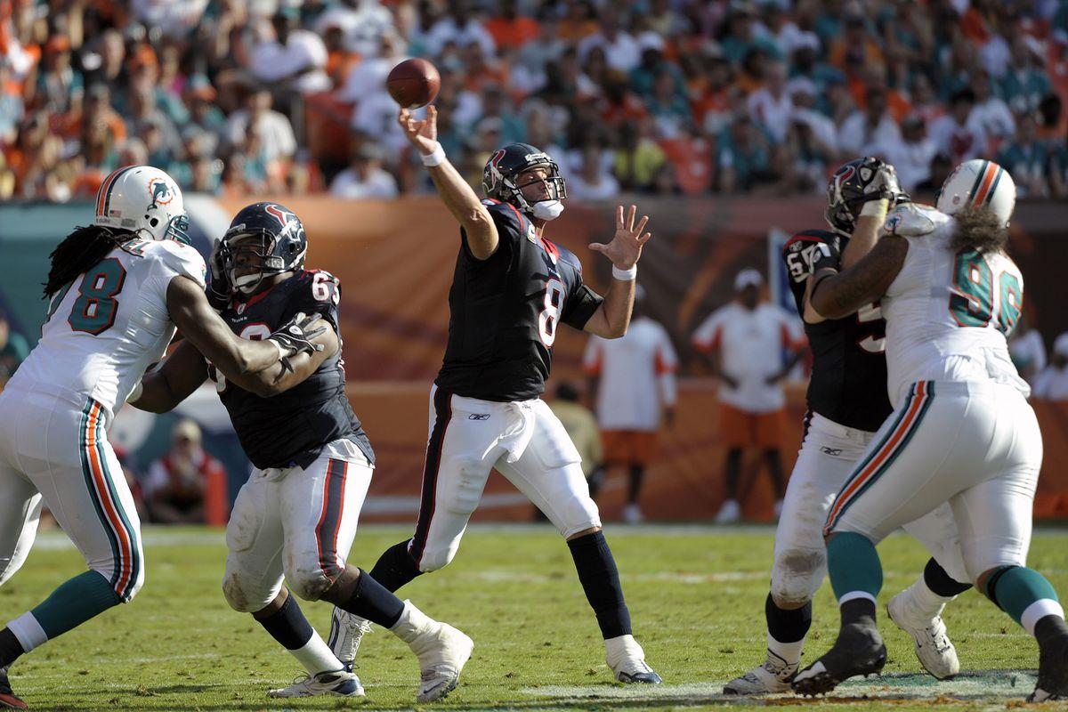 Houston Texans v Miami Dophins