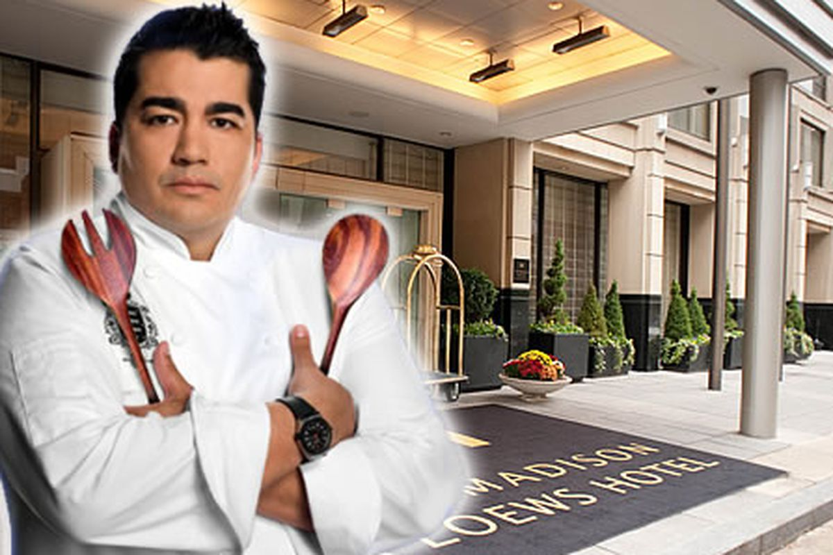 Garces is opening a steakhouse here.