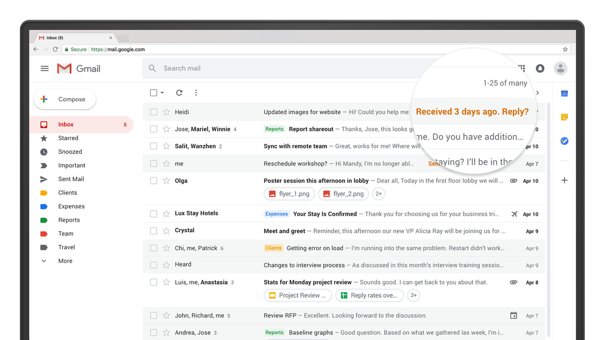 Google releases Gmail redesign