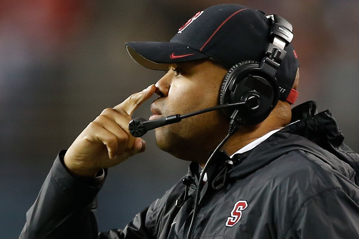 David Shaw performing a field sobriety test