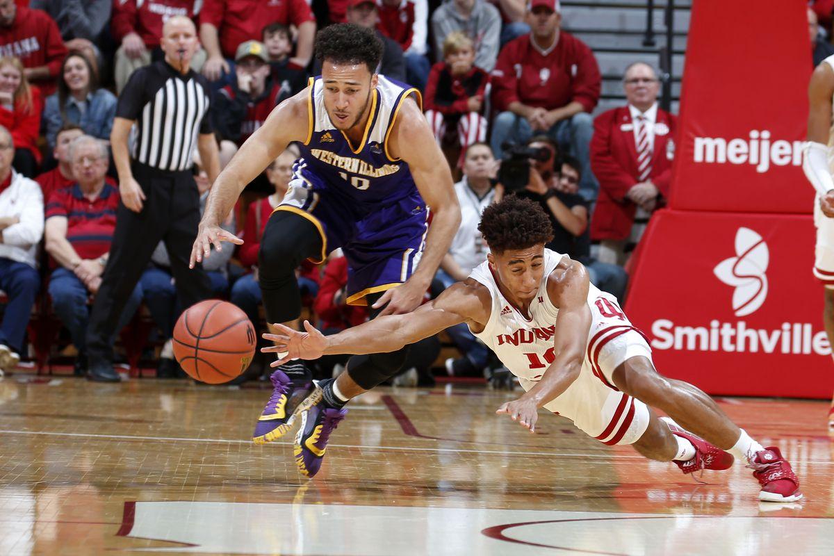 NCAA Basketball: Western Illinois at Indiana