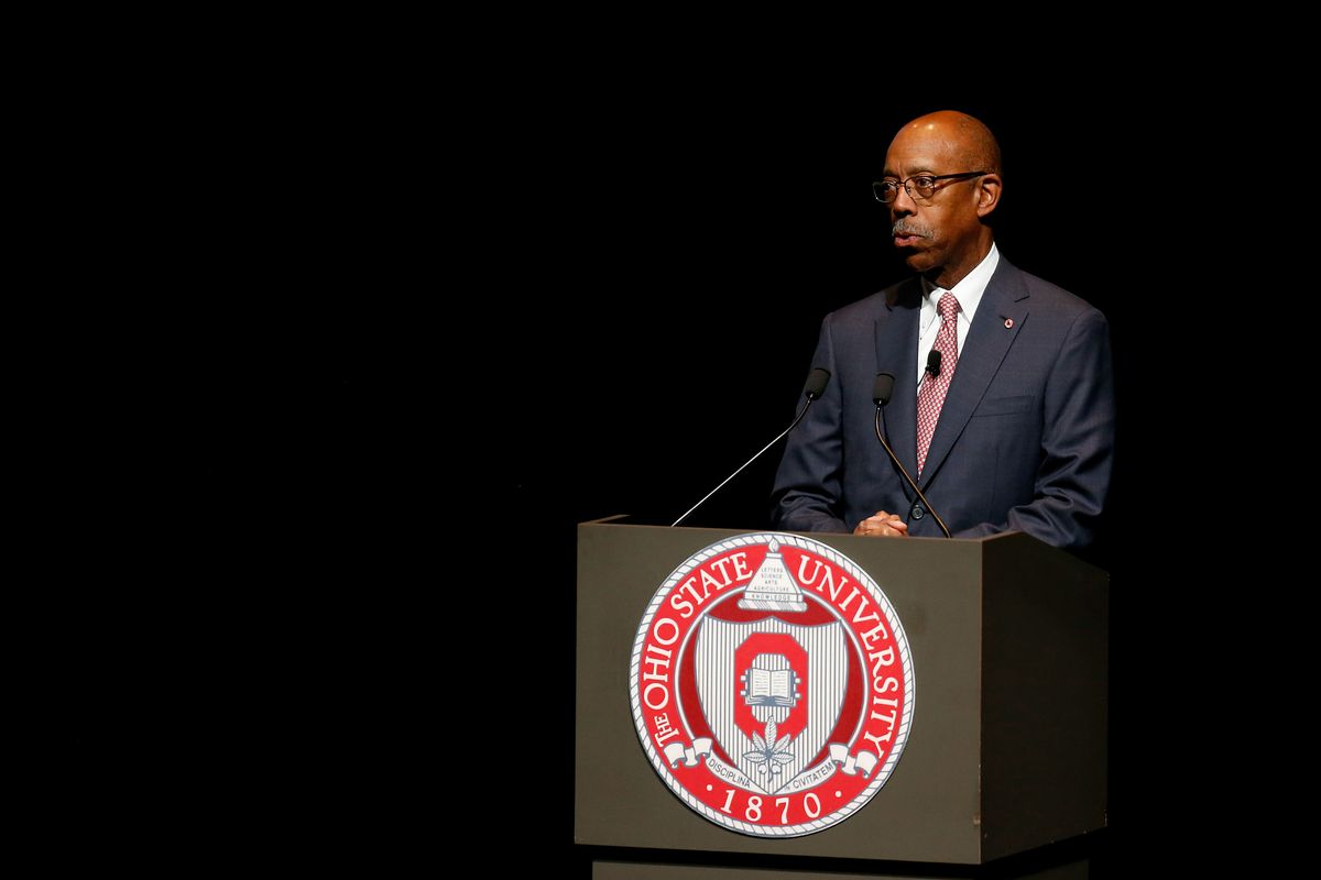 Prince Albert II Delivers Climate Change Lecture At Ohio State University