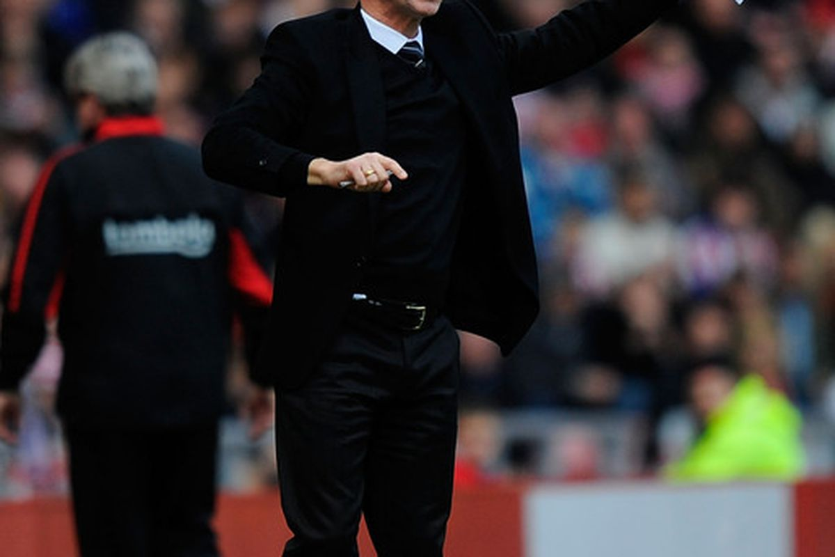 Newcastle United manager Alan Pardew had led his side to 4th in the table thus far this season.