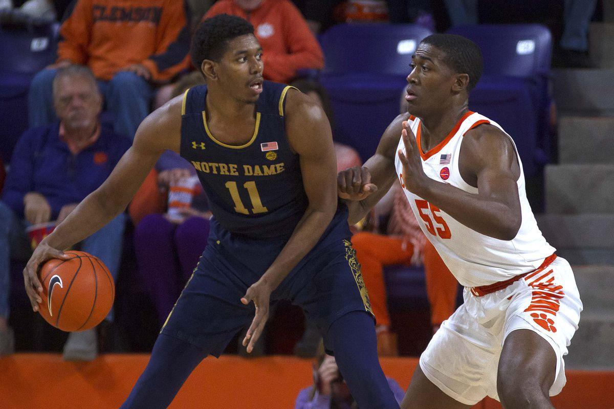 Quick Recap: Notre Dame Men's Basketball Beats Clemson 61 ...