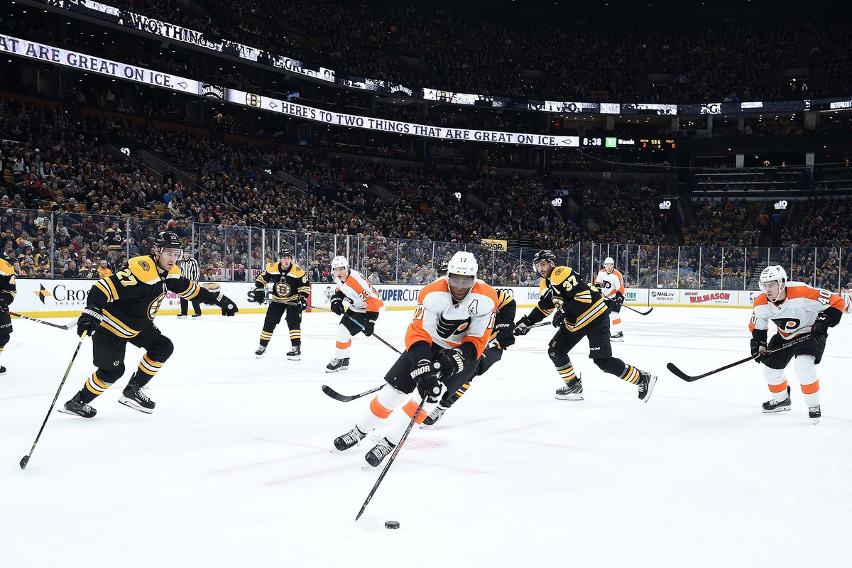Flyers vs. Bruins game thread