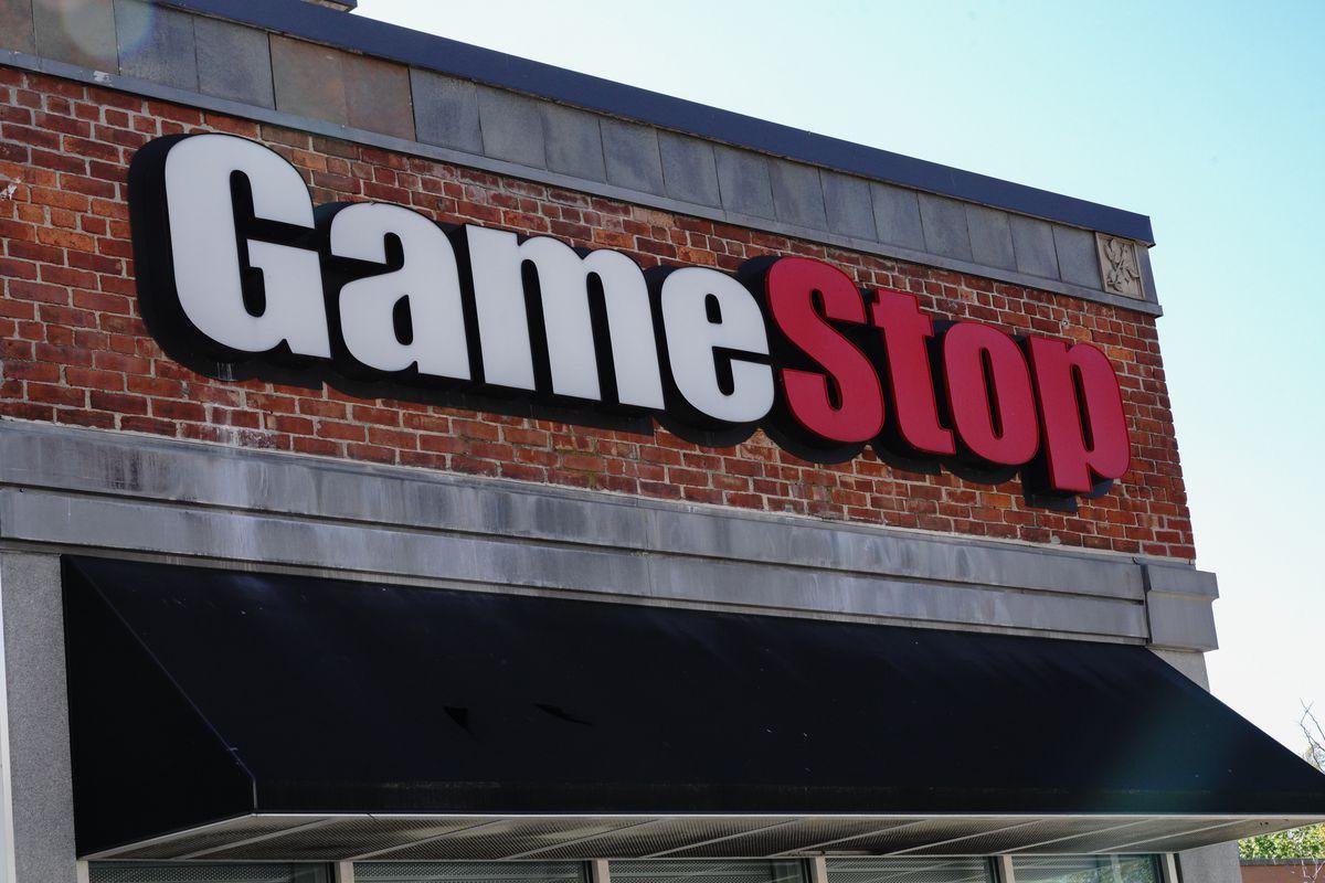 A GameStop store in Queens, New York.
