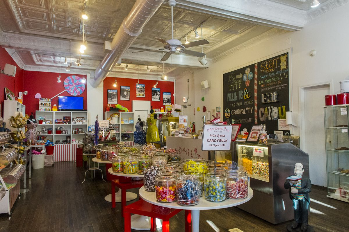 Hundreds of different candies available at Candyality Chicago in Andersonville.   Tyler LaRiviere/Sun-Times