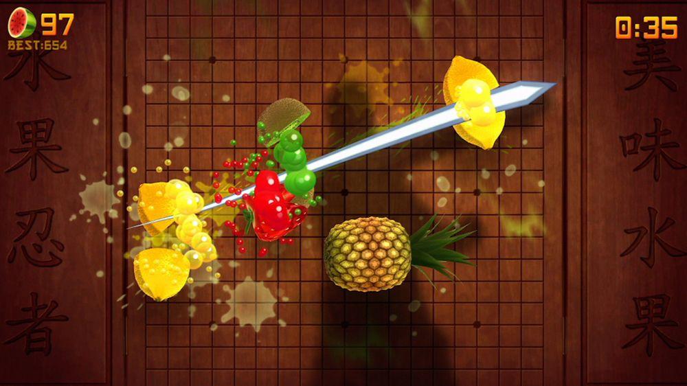 Fruit Ninja Kinect screenshot 1000