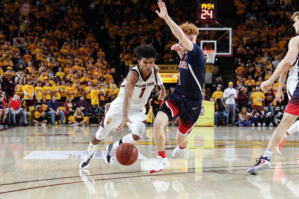 COLLEGE BASKETBALL: JAN 25 Arizona at Arizona State