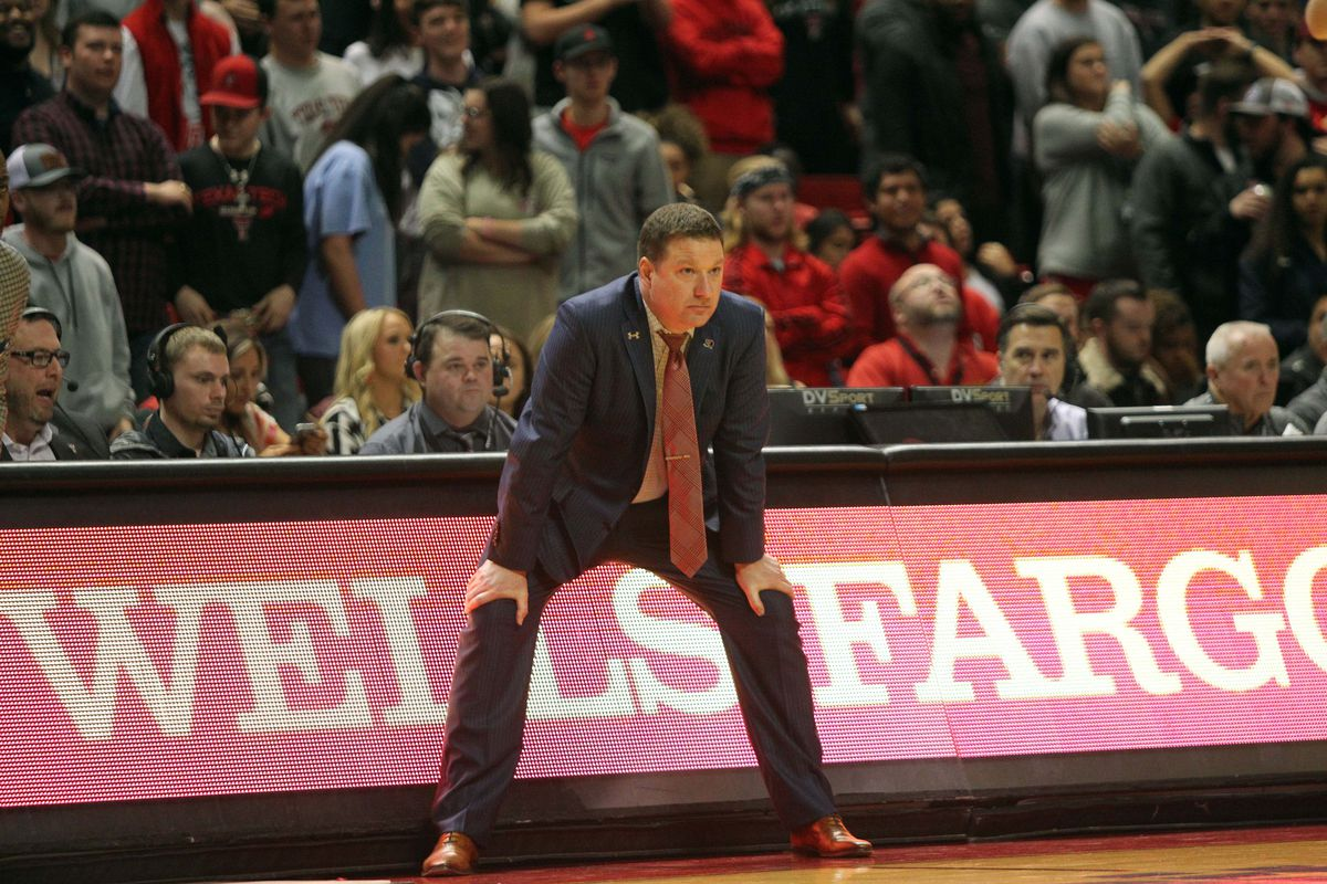 NCAA Basketball: Oklahoma at Texas Tech