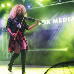 """<a href=""""https://www.facebook.com/mapyviolinist/"""">Mapy Violinist</a>ROCKING IT."""