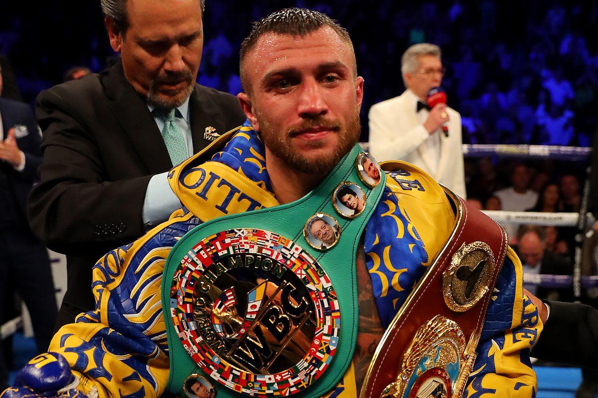 Vasiliy Lomachenko v Luke Campbell - WBC, WBA, WBO and Ring Magazine Lightweight World Title Fight