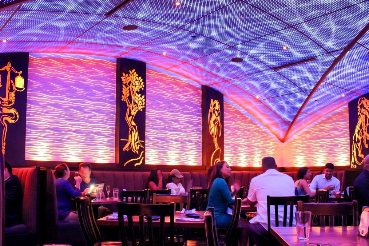 Peli Peli Houston Restaurant Interior