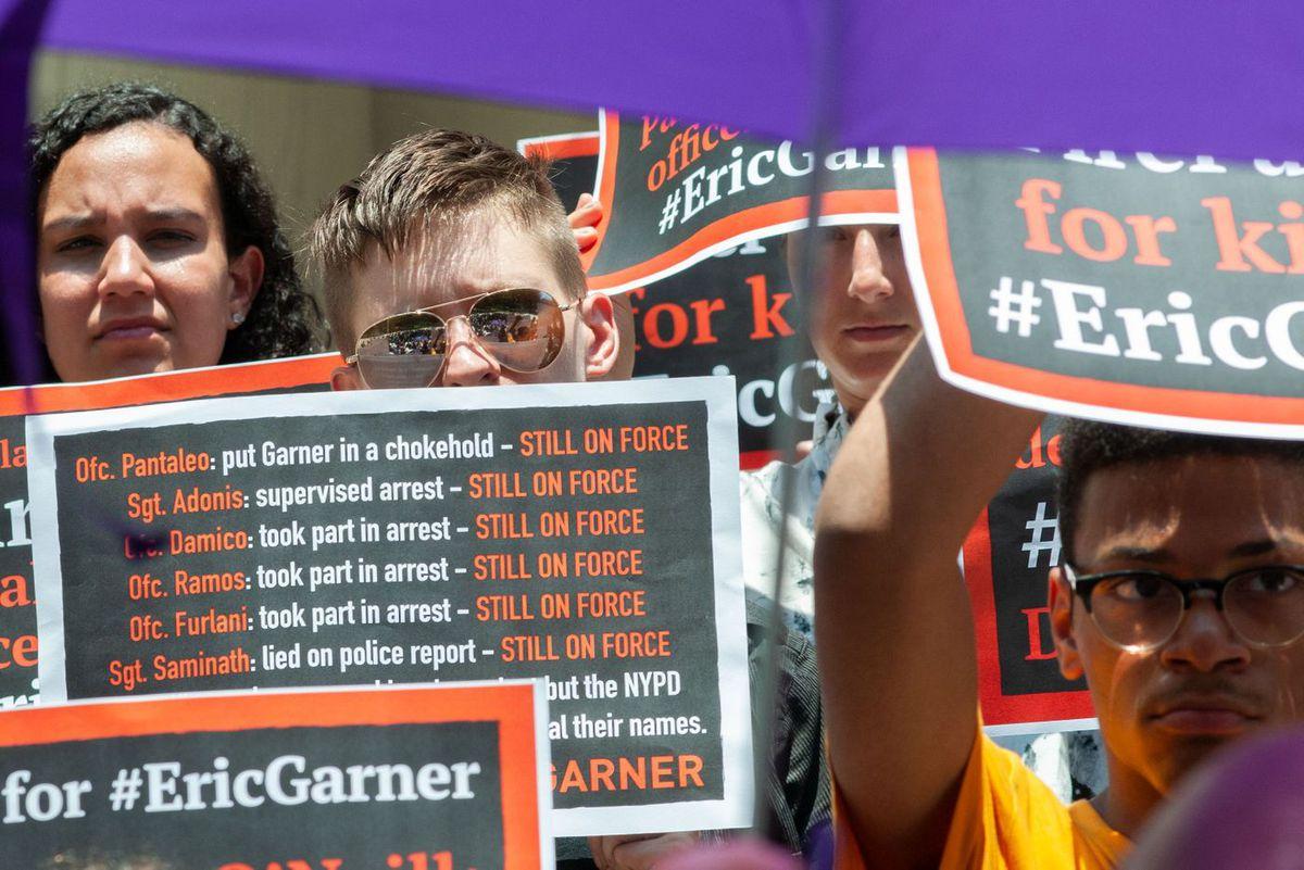 Eric Garner City Hall Rally