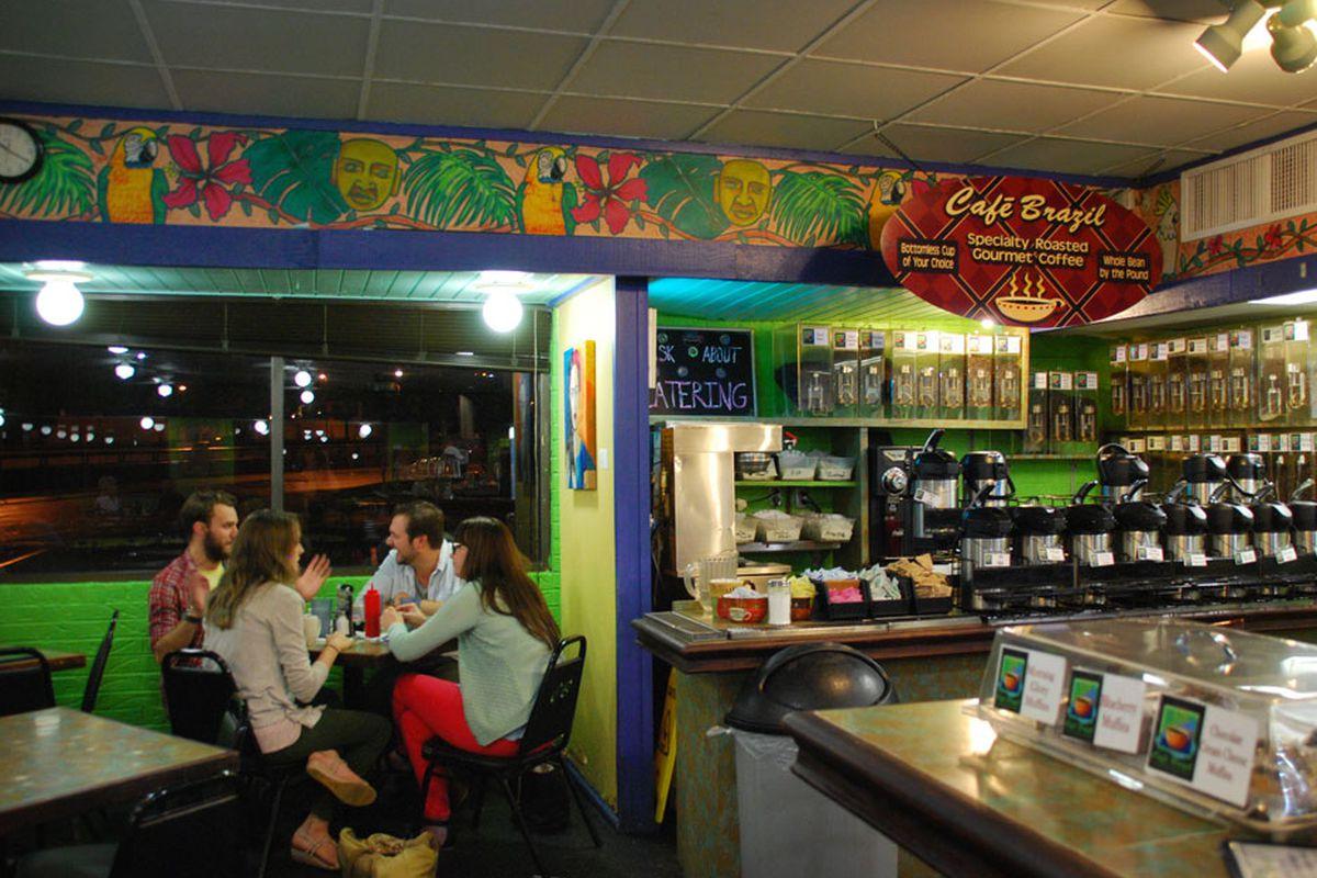 Cafe Brazil.