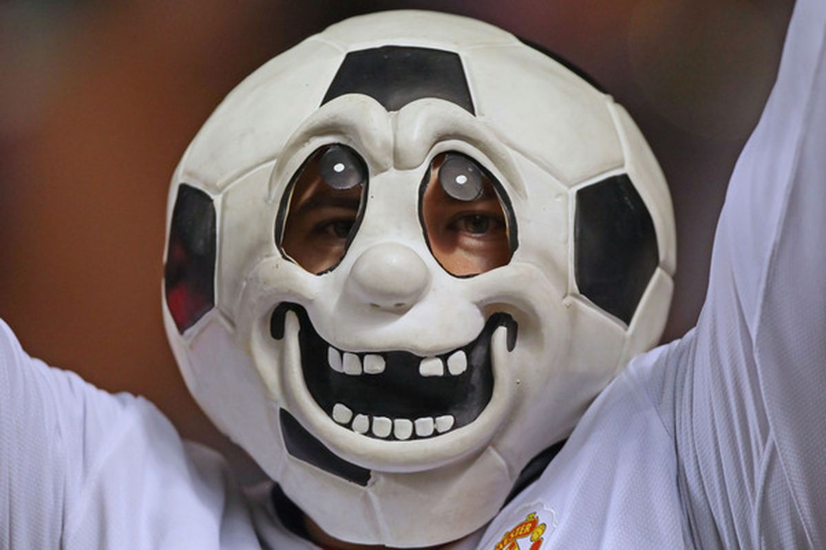 It's all about the soccer now. No, really. (Photo by George Frey/Getty Images)