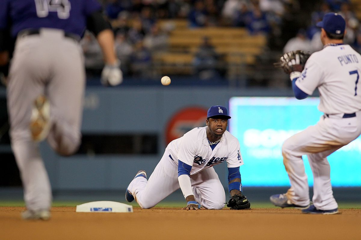 Visual proof that Hanley Ramirez played for the 2013 Dodgers.