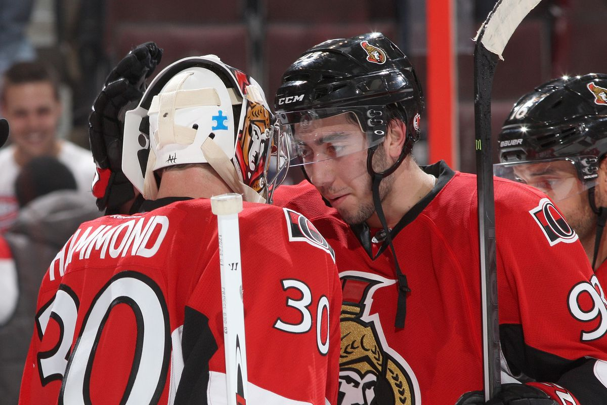 Sadly, this recall breaks up the budding bromance between Zibanejad and Hammond