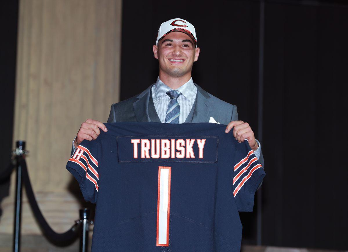 Like Rex Grossman before him, Mitch Trubisky was dogged by inconsistency and a lack of instinct for the position.