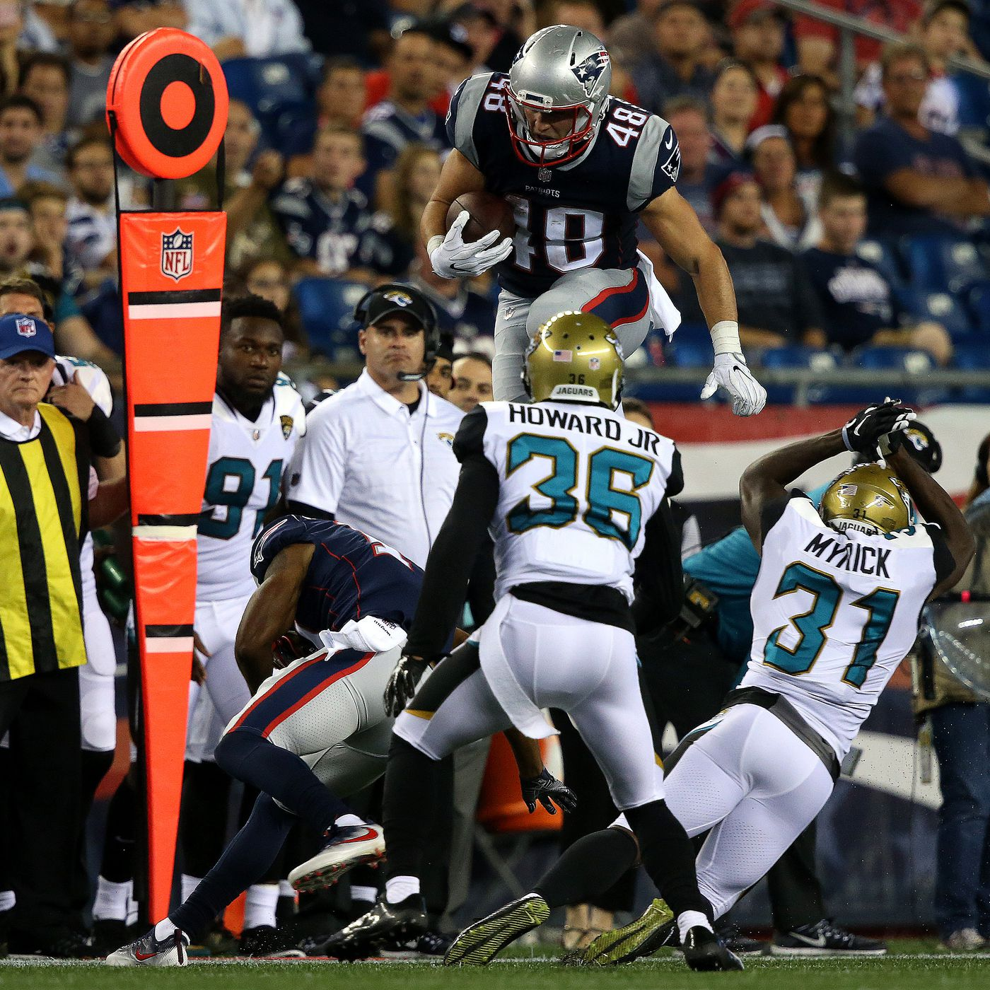 can you bet on the patriots vs jaguars game