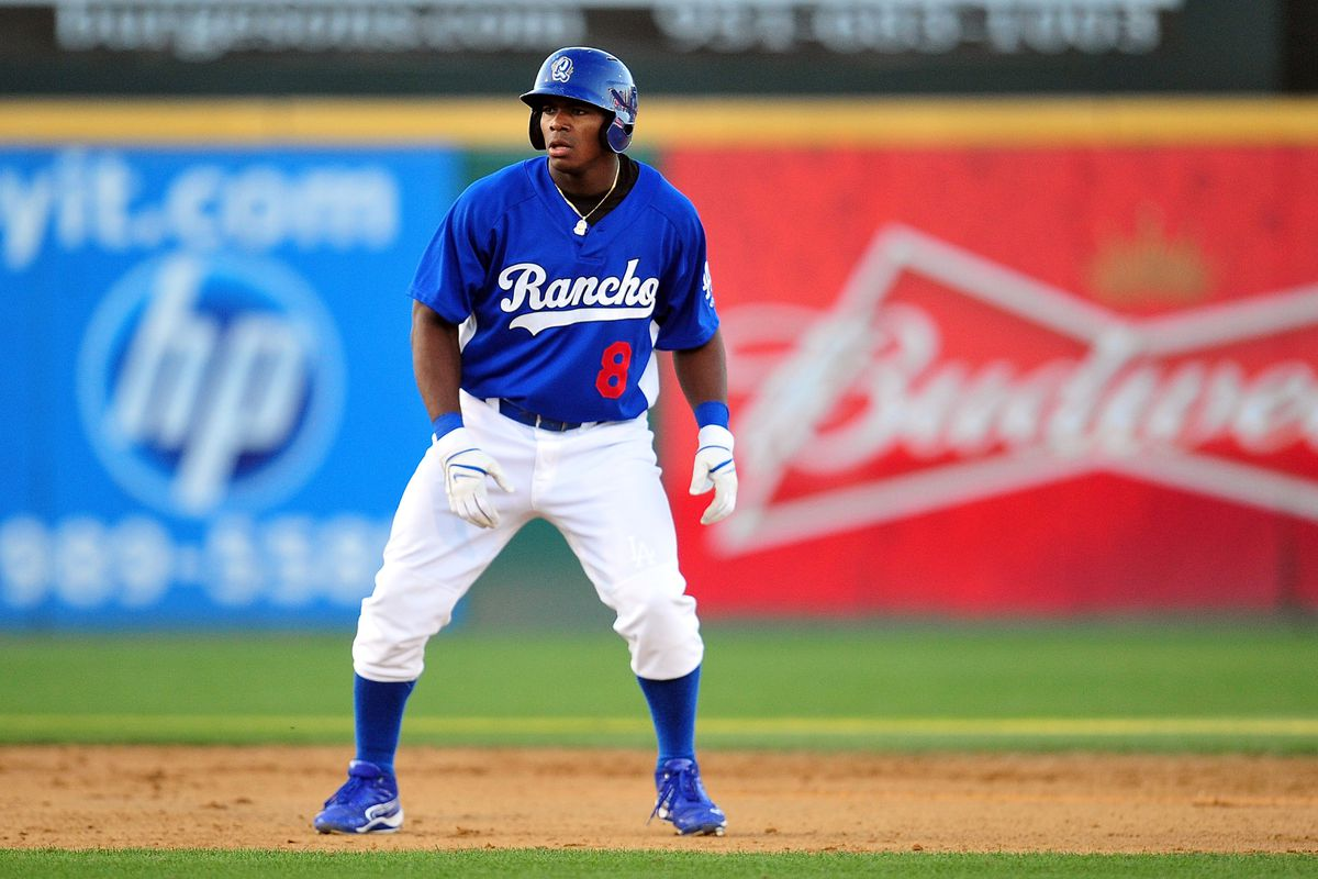 Yasiel Puig, who played 14 games for Rancho Cucamonga in 2012, just might be on the other side on Mar. 28