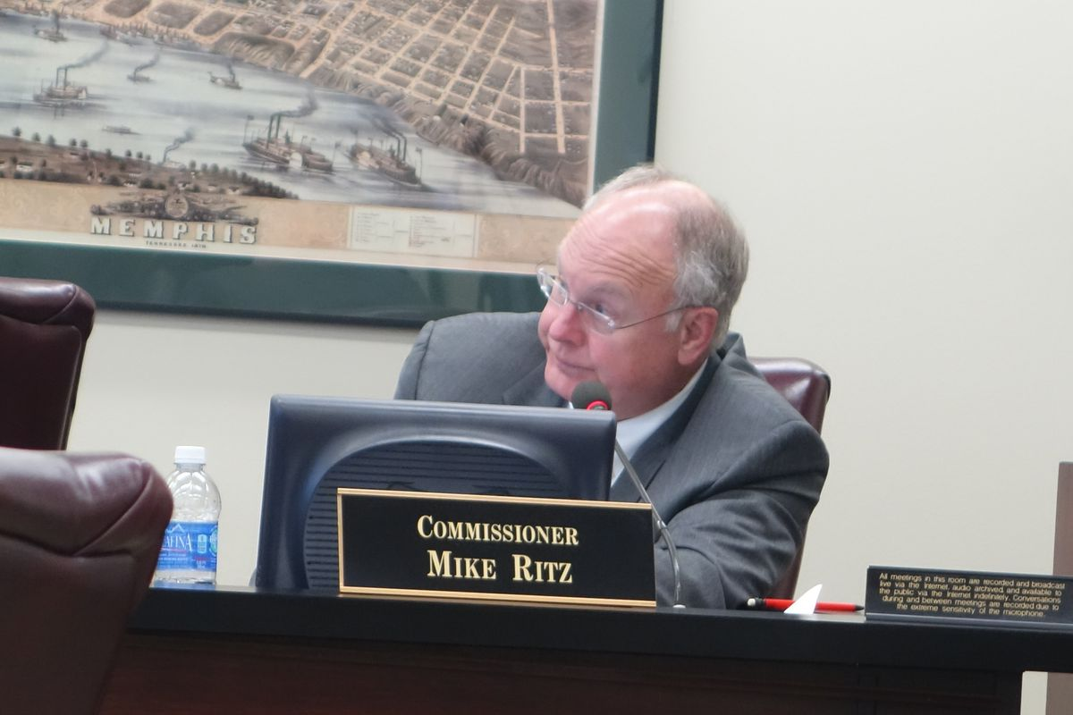 Commissioner Mike Ritz proposed an amendment that would've lowered the building study cost from $1.8 to $1.2 million and given Shelby County Schools control.