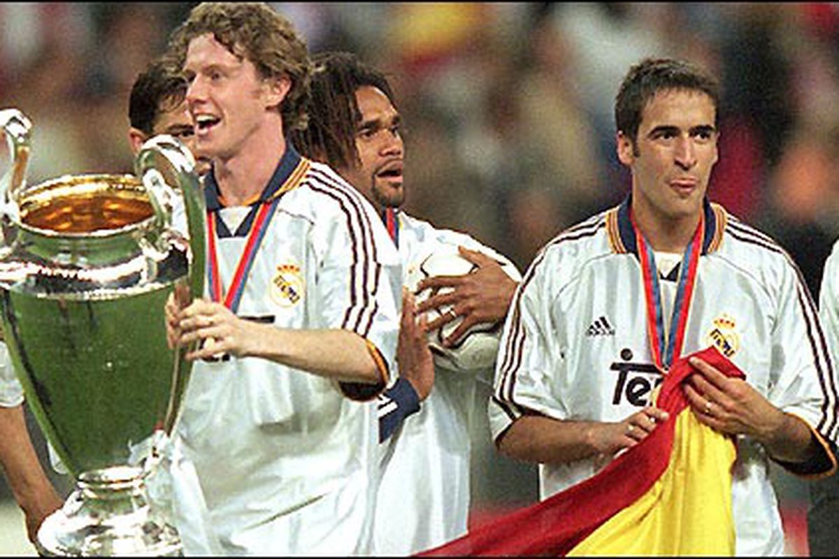 Real Madrid Classic 2002 Champions League Semi Final Vs Fc Barcelona Managing Madrid