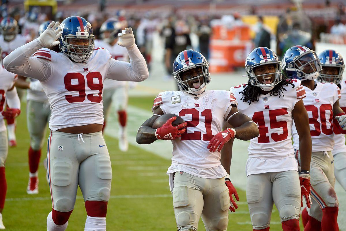 New York Giants v Washington Football Team