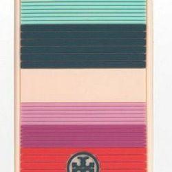 "<a href=""http://www.toryburch.com/Fez-Stripe-Silicone-Case/21129333,default,pd.html?dwvar_21129333_color=659&start=3&cgid=accessories-tech-accessories""> Fez stripe silicon case</a>, $40 toryburch.com"